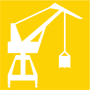 Icon for engineering services.